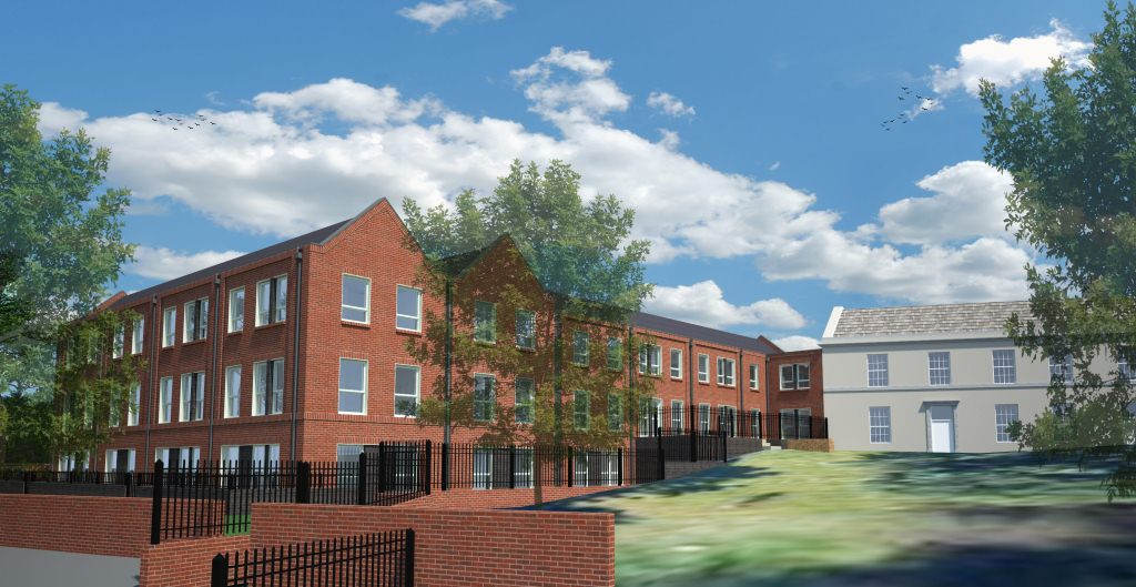 Demolition to make way for new affordable housing scheme ...