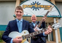 International sales drive profits growth at Gear4Music