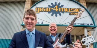 Gear4music raise £4.2m to amp up growth