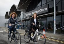Commuters ditch cars with Sheffield Business Park's green initiative