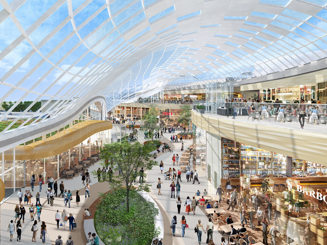 In brief: £60m refurbishment of Meadowhall completes