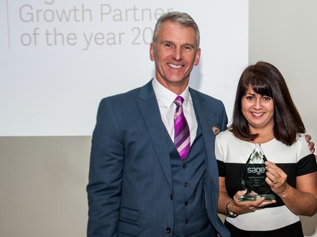 Blue Logic win Sage 200 Growth Partner of the Year Award