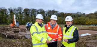 Construction begins on new Centrica offices