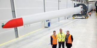Royal visit for Siemens Gamesa blade factory in Hull