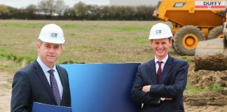 Work begins at £105m Leeds business park
