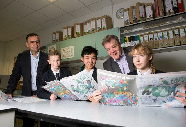 'First of its kind' i-zine gives Leeds students taste of apprenticeships
