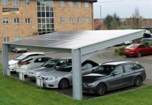 Lark Energy bolsters Bourne car ports with solar PV