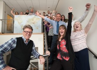 Harrogate hygienic surfaces manufacturer cleans up with Queen's Award
