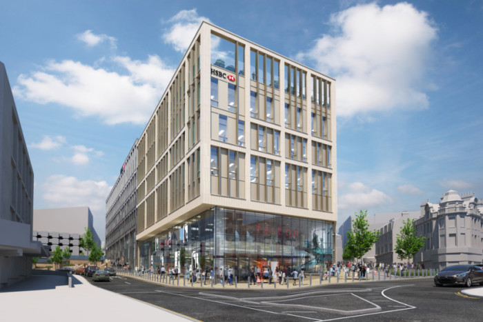 HSBC starts to build new premises in Sheffield - Business