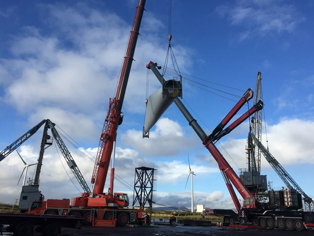 WWL ALS provide vessel agency services for turbine blades