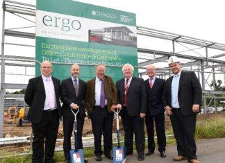 Construction kicks off at Bridgehead's green business centre