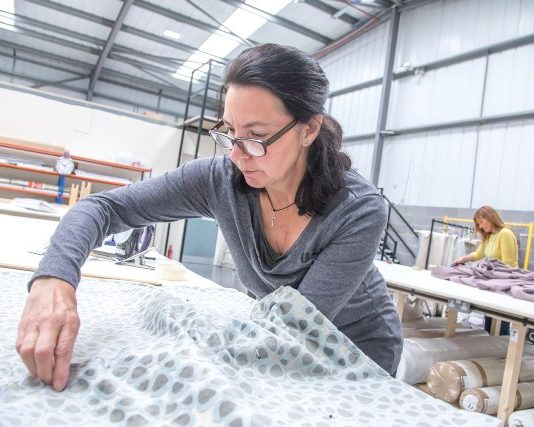 Job boost as curtain maker switches from retail to manufacturing
