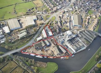 West Yorks property consultants bring boat-building estate to market