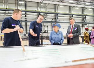 Royal visit for Siemens Gamesa blade factory in Hull