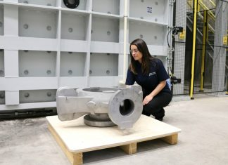 Largest ceramic shell casting in Europe unveiled in Sheffield