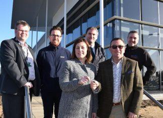 Council handed keys for £3.9m ergo business centre
