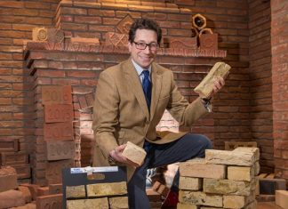 York Handmade manufactures London's iconic yellow bricks