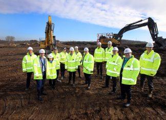 Work begins on Premier Farnell's Logic Leeds industrial unit