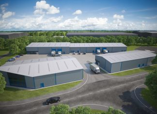 Work on £3m Huddersfield business park nearing completion