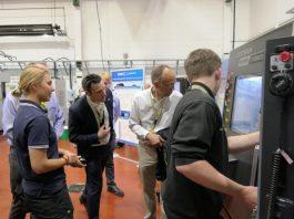Boeing senior staff visits Sheffield's AMRC