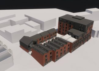 Mixed-use development in Central Sheffield progressing well