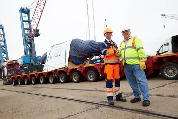 Cast steel roll leaves Immingham for Ukraine - Business Link Magazine