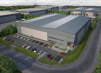 Construction begins on new industrial space in Leeds