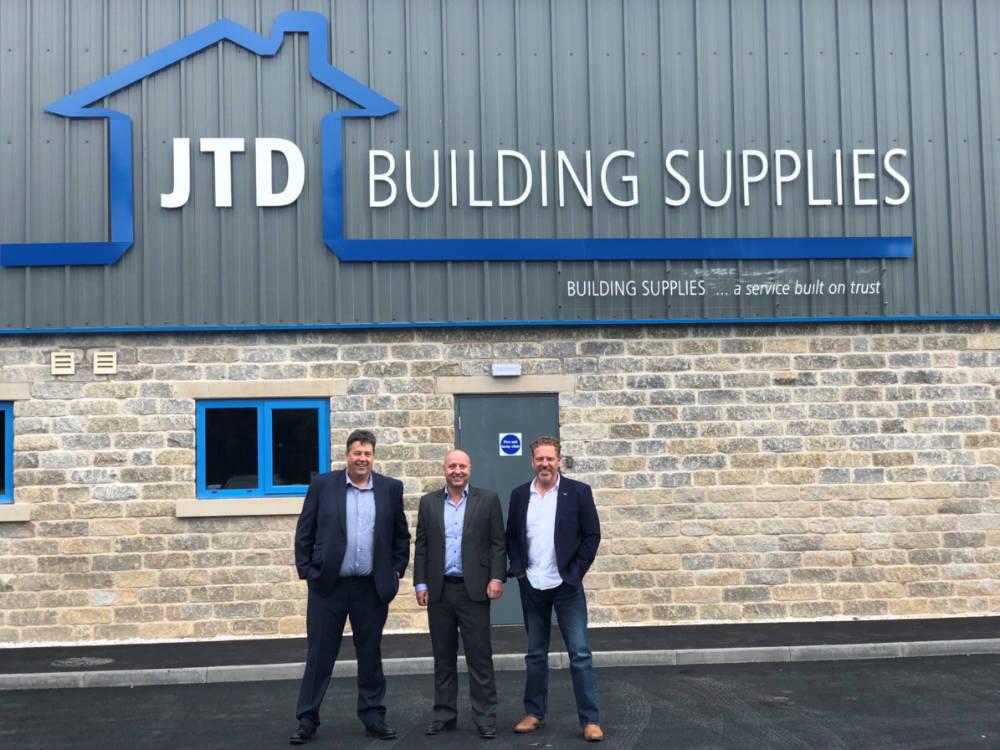 JTD Building Supplies opens £1.4m store in Huddersfield
