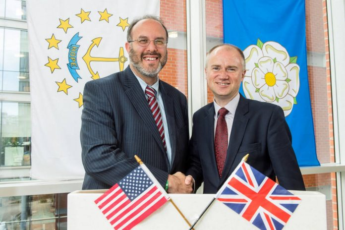 Rhode Island Secretary of Commerce to lead trade mission to Yorkshire