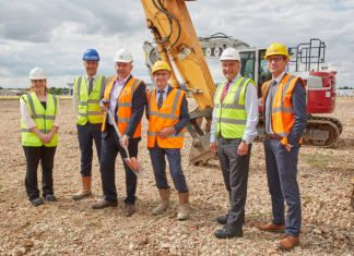 Developers break ground at Network 46 in Lincolnshire