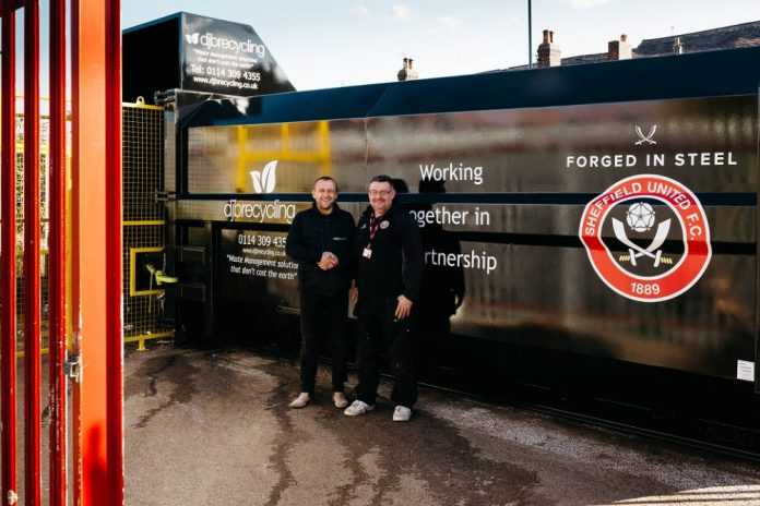 Two-year partnership for DJB Recycling and Sheffield United FC