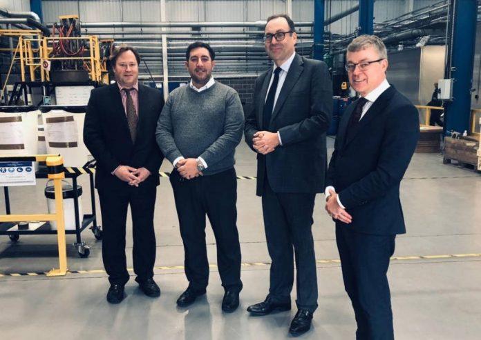 Metalysis celebrates Northern Powerhouse membership with minister visit