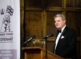 Defence Minister hails Yorkshire firms during Huddersfield visit
