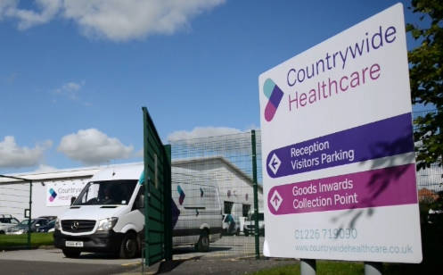 Barnsley healthcare supplier sees revenue hit £21m