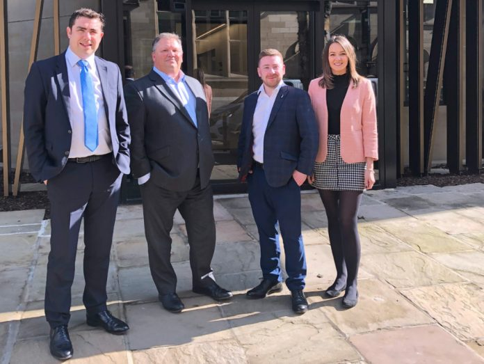 Trio of promotions at CBRE's Leeds office