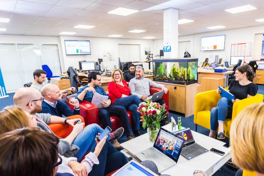 Revenue rise as tech platform breaks user record