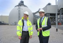 Drax Power Station welcomes Treasury Minister Robert Jenrick