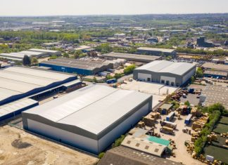 First phase of new Leeds industrial units completes