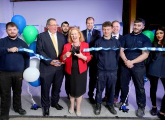 Bradford MP opens Christeyns new engineering facility