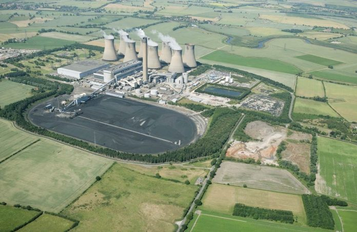 Former Eggborough Power Station sold to property developer