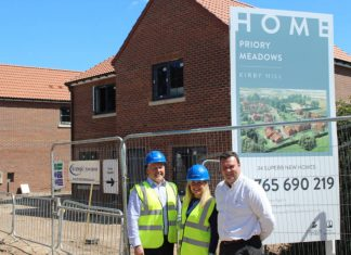 Signage contractor appointed on trio of housing projects worth £25m