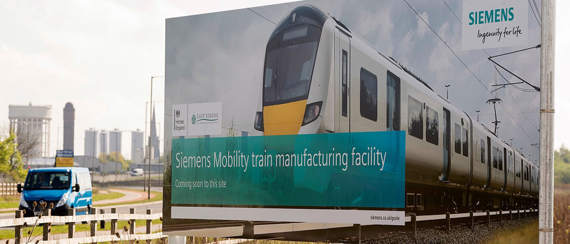 Siemens welcomes green light to start detailed planning for Goole