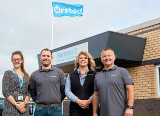 Ørsted opens construction base at Humberside Airport