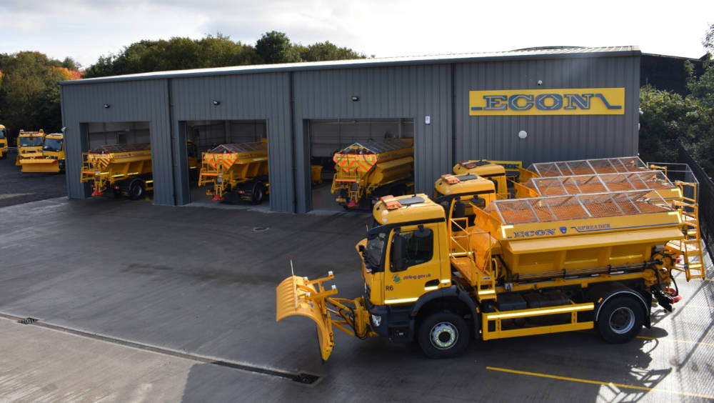 Yorkshire gritter maker invests £1.3m in new Scotland venture