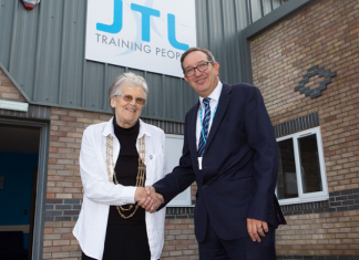 Lord Mayor opens new training centre in York