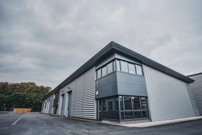 Construction completes on industrial units at Doncaster Sheffield Airport