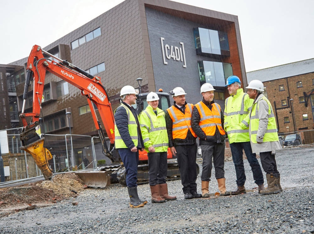 Work begins on C4DI sister building to boost Hull's tech sector offering