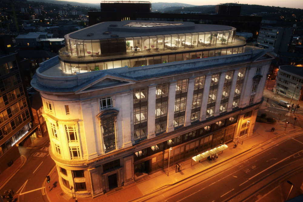 Rise in office take-up in Sheffield