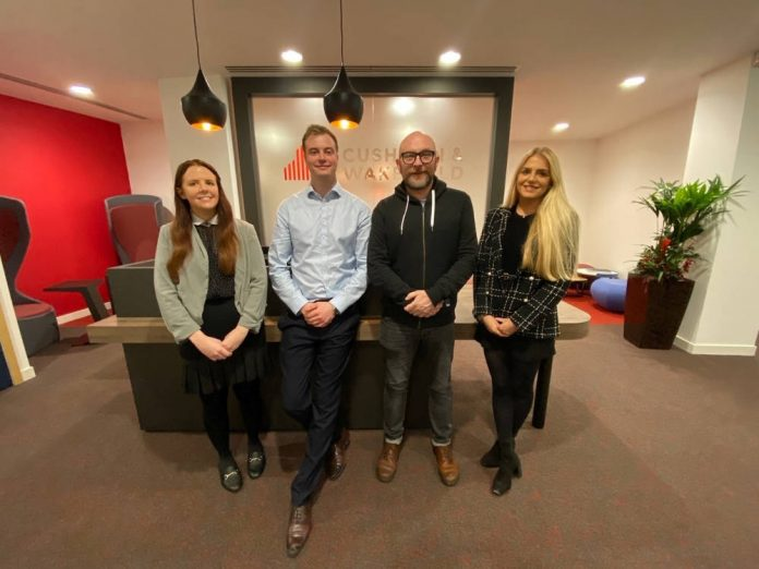 Leeds promotions for Cushman & Wakefield