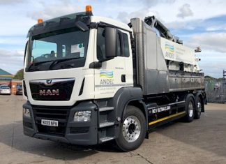 Andel invests £350k in eco-friendly waste tankers